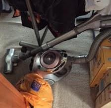 洗濯機、掃除機回収処分1