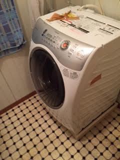 ドラム式洗濯機回収処分